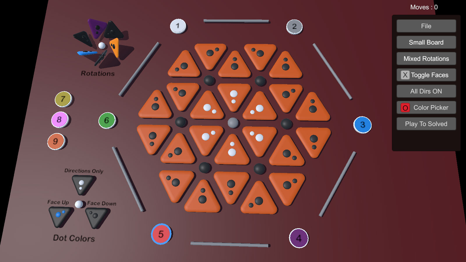 Hexagon Puzzle Editor